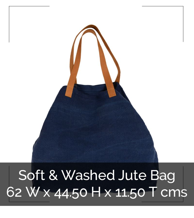 SOFT JUTE LARGE BAG - IG8B035